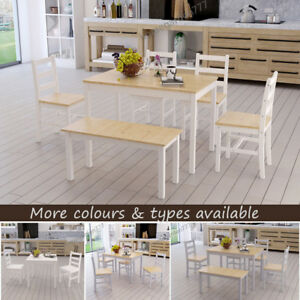 Image Is Loading Dining Table And 2 Chairs 4 Bench