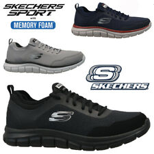 MENS SKECHERS RELAXED FIT LITE-WEIGHT MEMORY FOAM WALKING TRAINERS SHOES SIZE