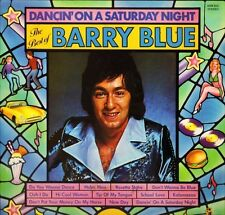 BARRY BLUE dancin' on a saturday night -the best of SHM 922 uk LP PS EX/EX