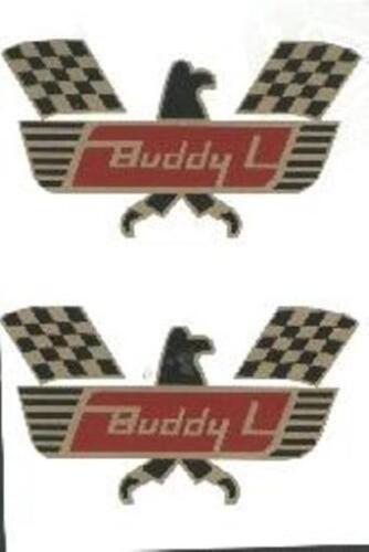 BUDDY-L  RACE  CAR  HAULER  DECAL  SET