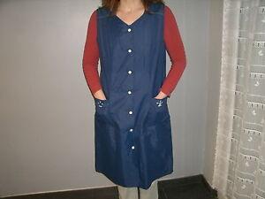 blouse nylon nylon kittel nylon overall N°324 T42 | eBay
