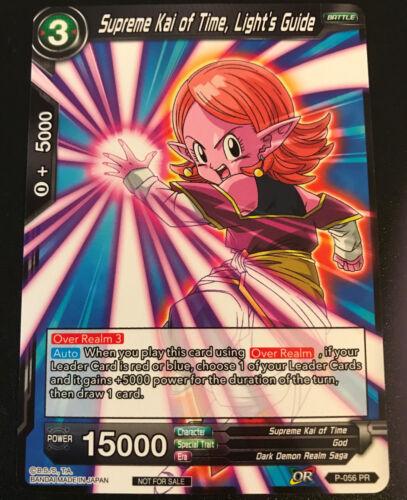Light/'s Guide P-056 PR NON-FOIL Dragon Ball Super TCG NM Supreme Kai of Time