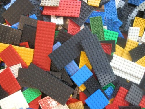 Lego 30x  Bauplatten Bau Platten versch Grössen und Farben Konvolut