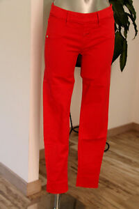 Marithe Taille 36 Girbaud Rouge Femme W28 Francois Jegging x4wOEfF4