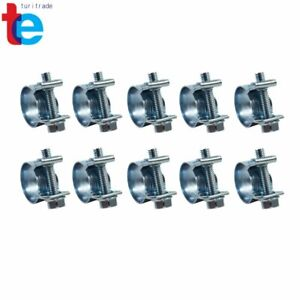 """NEW 10Pcs  5/16""""(13mm-15mm)FUEL INJECTION HOSE CLAMP / AUTO Fuel Clamps"""