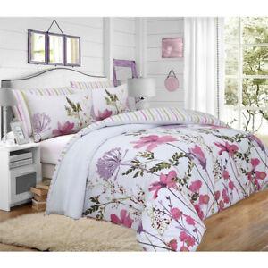 Floral-Duvet-cover-set-Super-King-Size-Juego-de-Cama-Edredon-Doble-De-Lujo-Phoebe