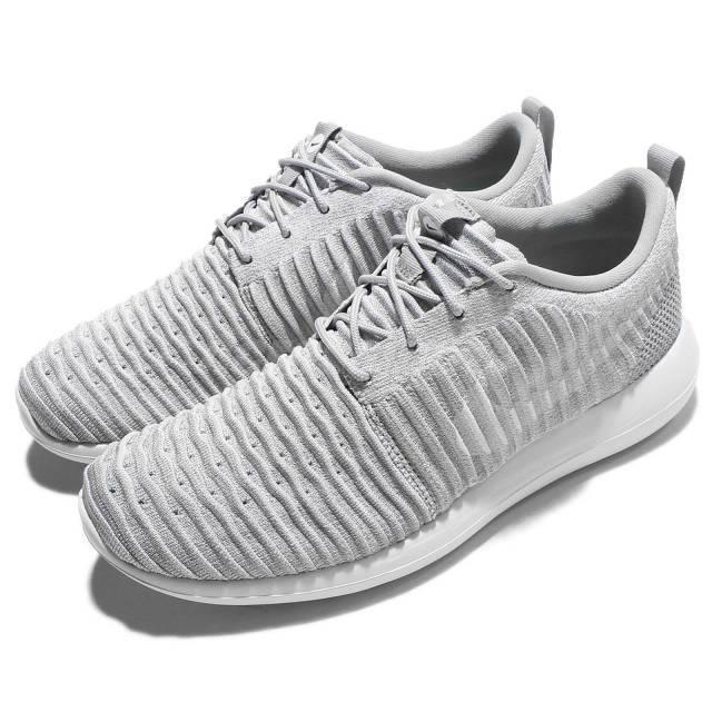Nike Roshe Two Flyknit Wolf Grey Men's 844833 008