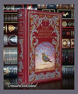 Hans-Christian-Andersen-Classic-Fairy-Tales-New-Sealed-Leather-Bound-Collectible