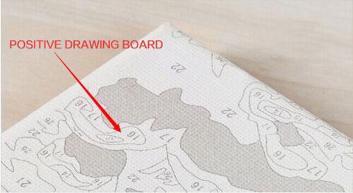 Malen nach Zahlen 40 x 50 cm mit Holzrahmen Komplettset  GX9581