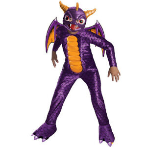 Spyro Kostum Maske Kinder Skylanders Karneval Fasching Junge