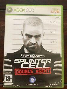 Tom Clancy's Splinter Cell Double Agent Microsoft XBOX 360 VF