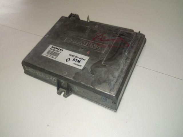 Calculateur décodé RENAULT 21 1.7 BVM S101263102 HOM7700746044 7700852357