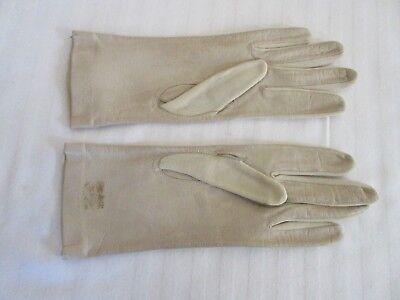Acquista A Buon Mercato Women's In Nylon/guanti In Pelle Foderato Crema Misura 7 Circa Usato (5)-mostra Il Titolo Originale Facile Da Lubrificare