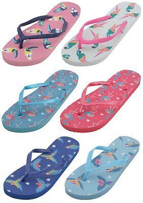 Sandrocks Ladies Metallic piscine Slide Sandal Flip Flop
