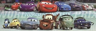 Disney Pixar Poster CARS 2 Manifesto 50x70 !!!