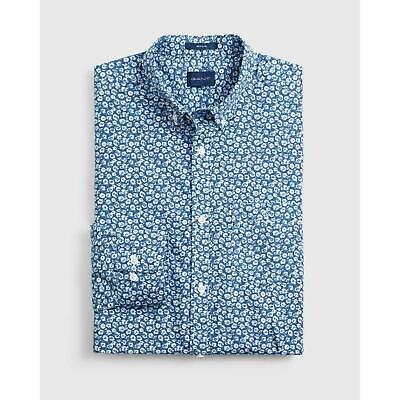 Gant Men/'s Rose Chambray Shirt Indigo Blue Gant Shirt