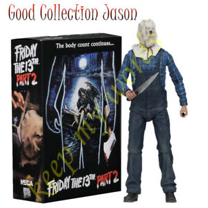 NECA-Horror-Movie-PVC-Action-Figure-Jason-Friday-The-13th-Part-2-Play-Toy-Model