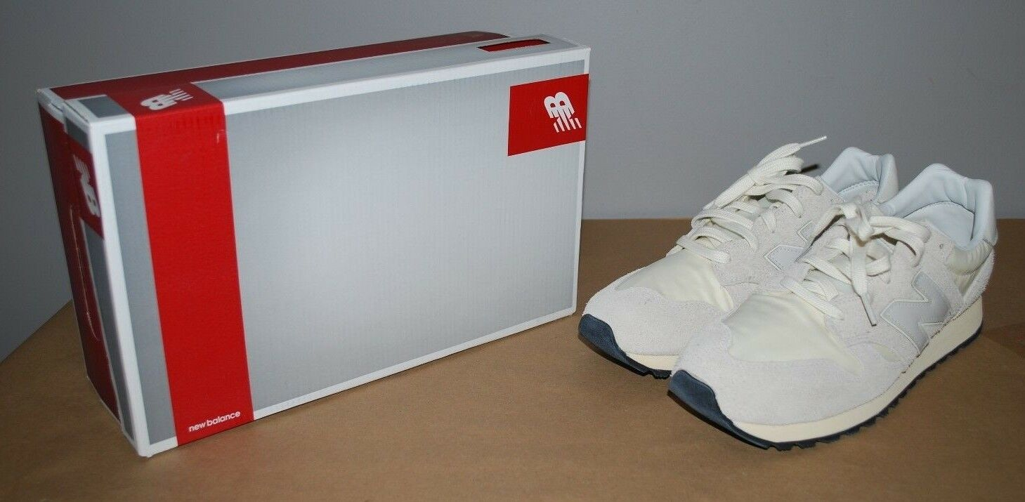 New Balance NB U520AC 520 Hairy Suede Grey White Made in the USA  - Size 11