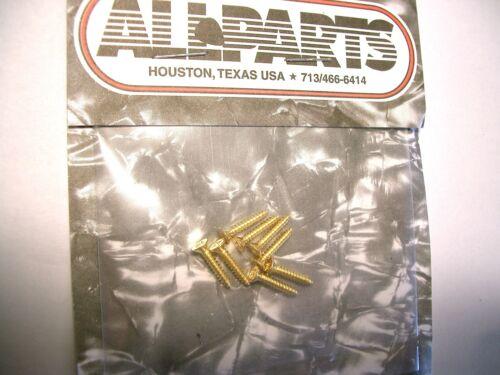 13mm gold 8 Allparts Humbucker Rahmenschrauben