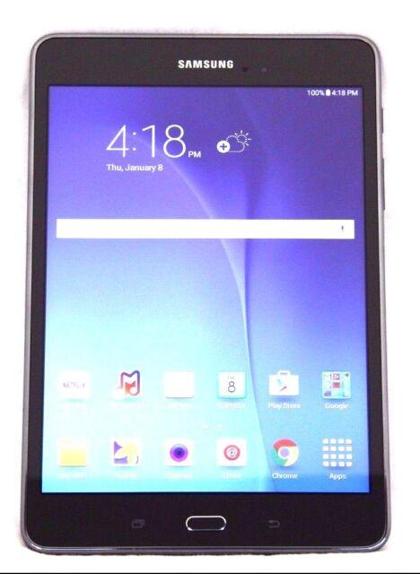 Samsung Galaxy Tab A SM-T350 16GB, Wi-Fi, 8in - Smoky Titanium (08-3E)