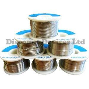 Solder-Wire-60-40-0-5-2mm-2-Flux-Reel-Tube-Tin-Lead-15-500g