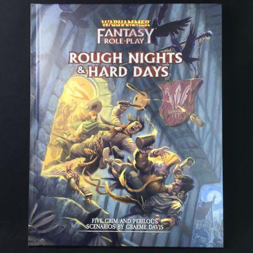 Papel Fantasia jogar duro Noites /& Hard Days-Games Workshop//Boxe 7 Warhammer
