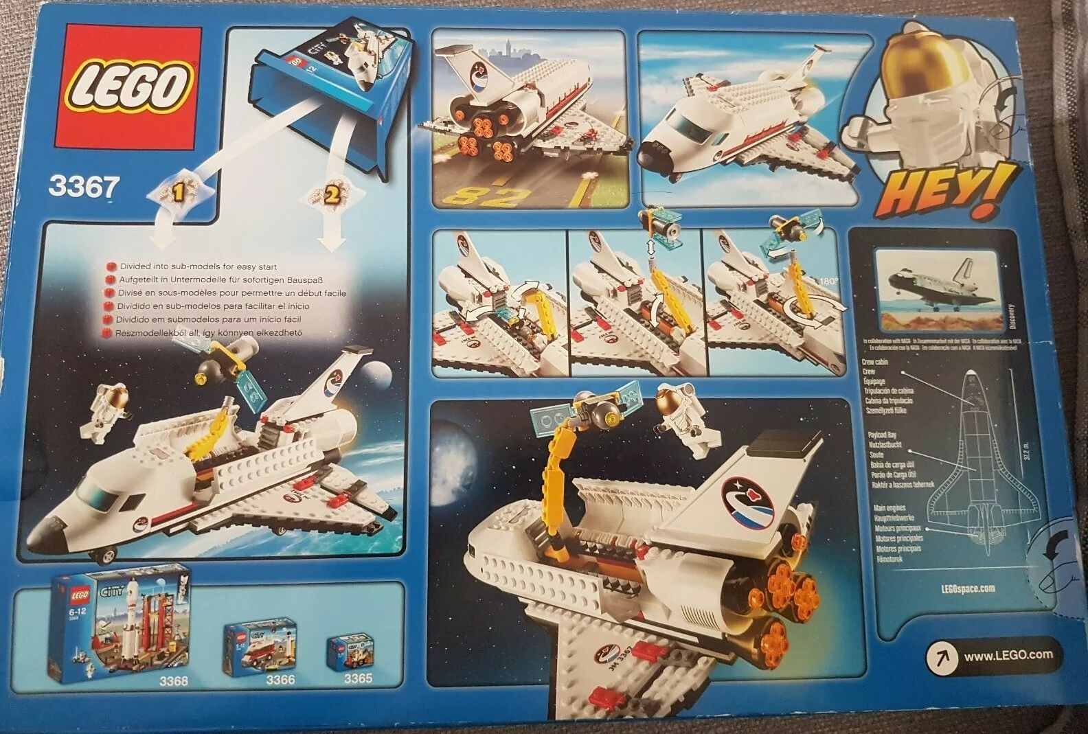 LEGO Space Shuttle 3367 New - discontinued
