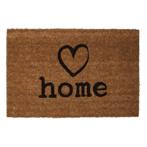Charm Heavy Duty Coir Non Slip PVC Back Washable Entrance Indoor Floor Doormat
