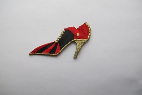 #2665 FASHION LADY,LADY HIGH HEEL SHOE,SHOPPING EMBROIDERY APPLIQUE PATCH