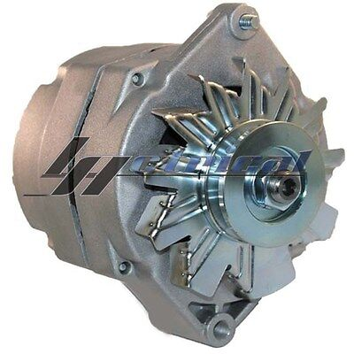 NEW ALTERNATOR CHROME FOR GM CHEVY HOT ROD 12 Clock Position HIGH OUTPUT 200 AMP