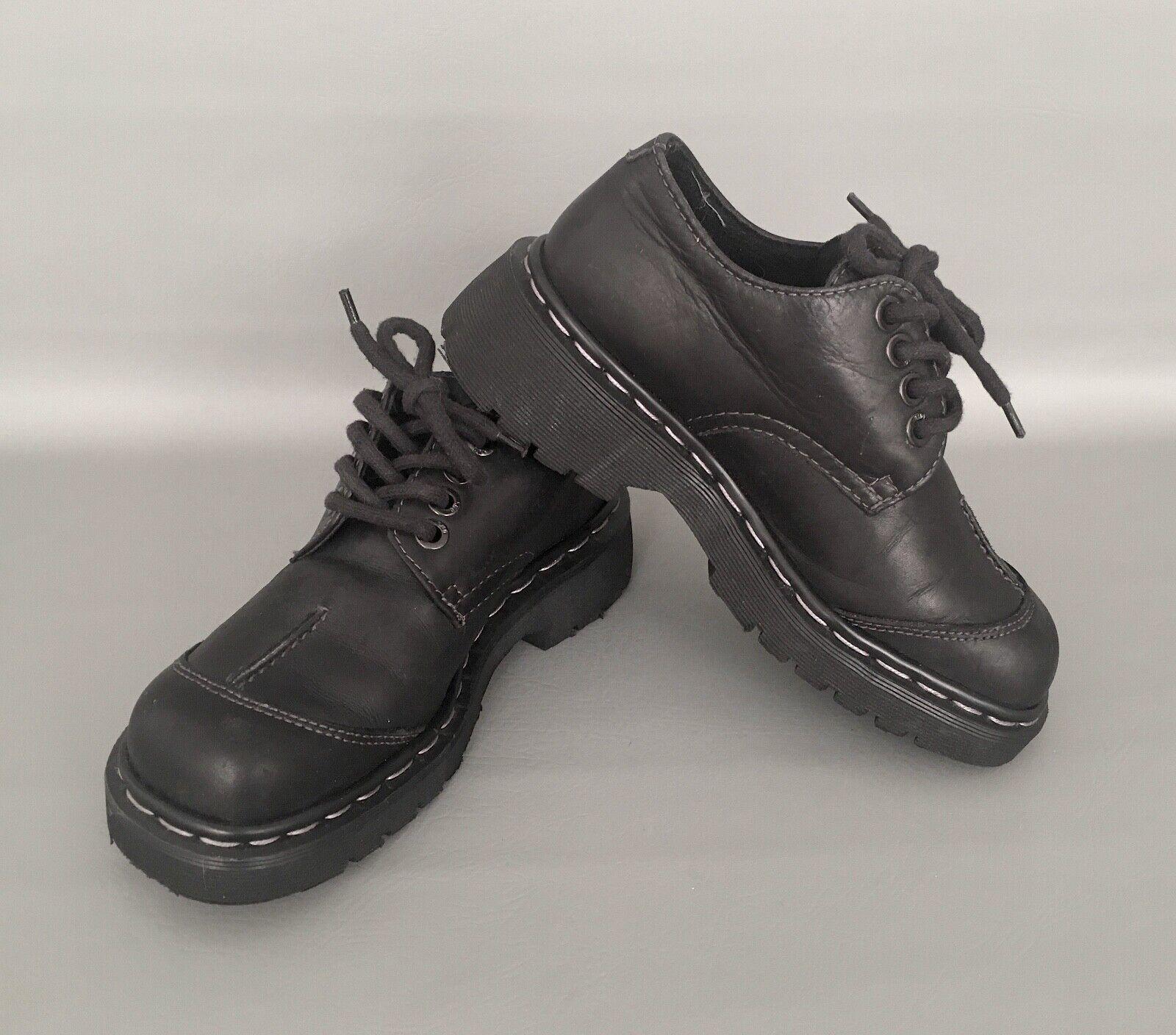 Dr. Martens Air Acolchada Suela Suela Suela Negro Zapatos Con Cordones Casual Adulto Para Mujer Talla .5  ofrecemos varias marcas famosas