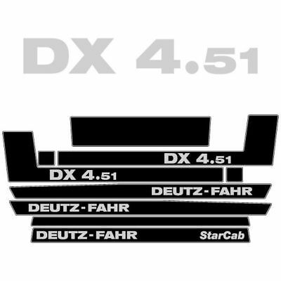 decals deutz fahr DX4.78 stickers