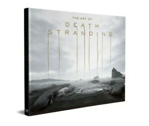Kojima Productions The Art Of Death Stranding Ludens Hardback Art Book 256 Pages