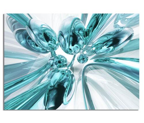 Premium générons ag5705000230 deco 70x50cm Chrome Bubbles Turquoise