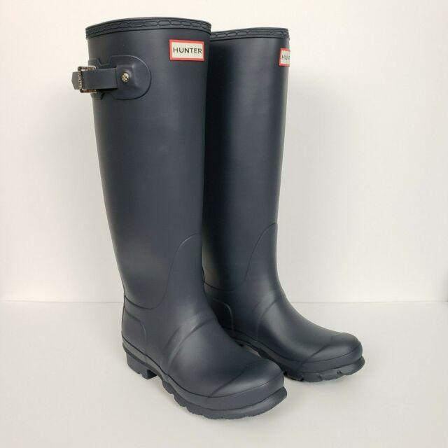 Hunter Womens Rain Boots Original Tall Wide Calf Matte -4997