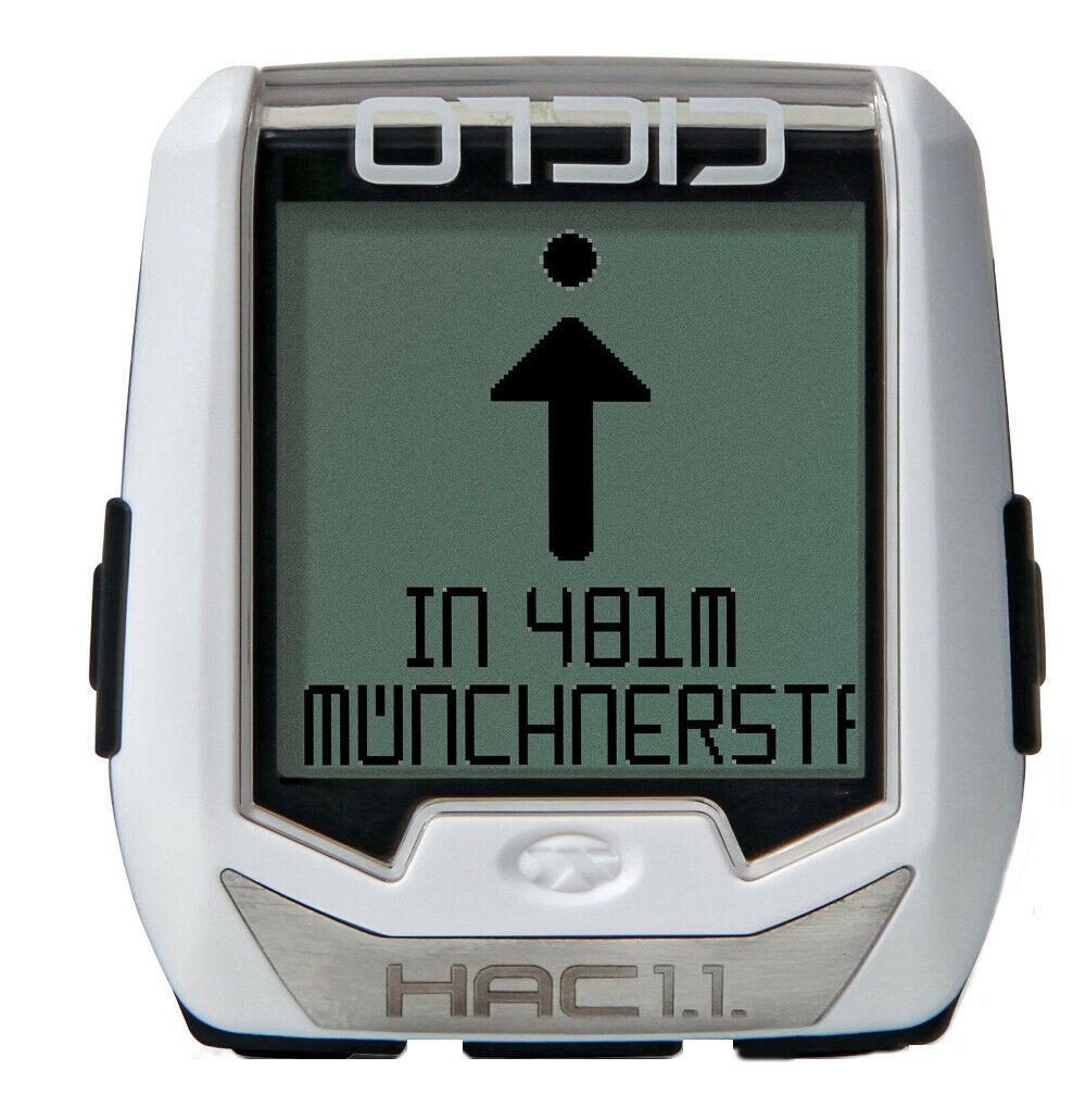 Ciclosport BICICLETTA navi hac 1.1 GPS radtacho Fitness funzione Ciclocomputer app