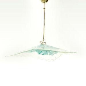 Lampadario triangolare La Murrina anni \'70, vintage chandelier, mid ...