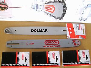 """40cm Schwert 3//8/""""P 4 Ketten 56TG 1,3mm für Dolmar 102"""