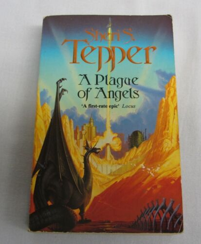 1 of 1 - A Plague of Angels by Sheri S. Tepper (Paperback, 1994)