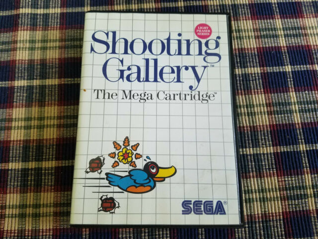 Shooting Gallery - Authentic - Sega Master - Case / Box Only!