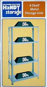 4-Shelf-Metal-Storage-Unit-galvanised-steel-shelves-50kg-each