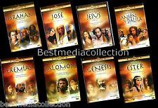 Salomon / Jesus / Jeremias / Genesis / Ester / Sanson DVD NEW 8 Pk LA BIBLIA