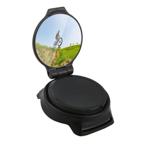 360° Rotate Arm Wrist Rearview Mirror for Bike Bicycle Cycling Mirror U0K4