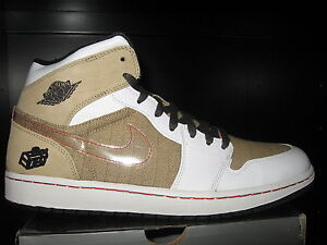 7012077ffc3ea4 Nike Air Jordan 1 Father s Day Edition Tweed size 13.5 DS 325514 101 ...