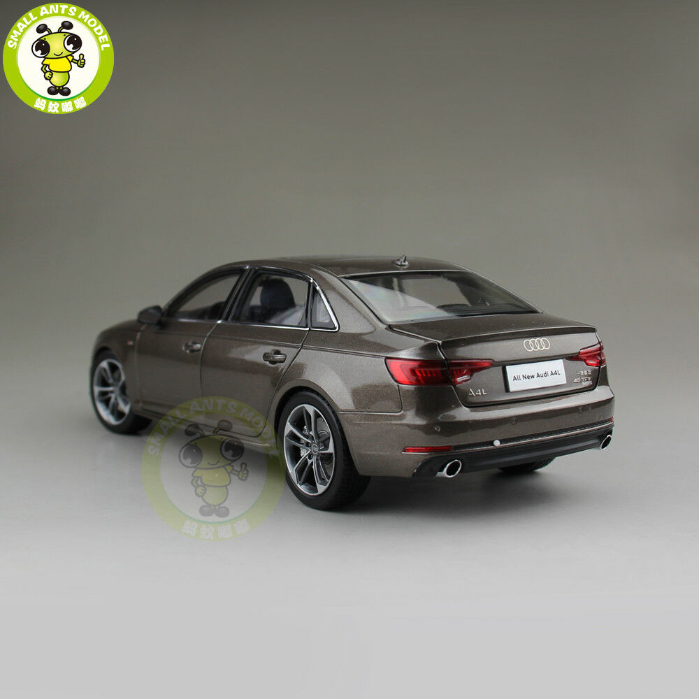 1 18 18 18 Audi A4L A4 Diecast Metal Car Model Toy Boy Girl Gift Collection Brown b885bc