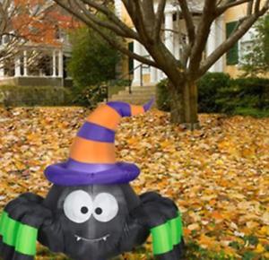 Halloween-3-5-039-Inflatable-Lights-up-Outdoor-Vampire-Spider