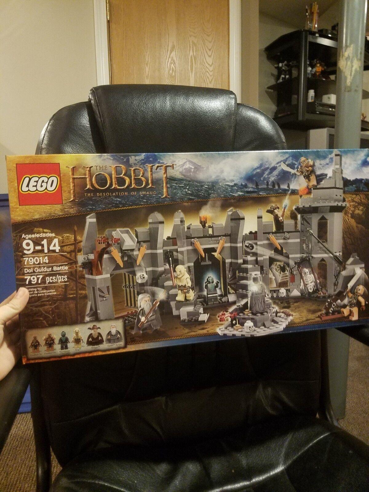 Lego Hobbit Dol Guldur Battle (79014) and Dol Guldur Ambush