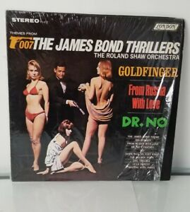 JAMES BOND THRILLERS LP Roland Shaw LONDON Stereo PS 412 shrink wrap protected