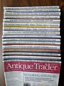 Antique-Trader-Magazines-Special-Lot-of-16-Heritage-Inc-Auction-Guides-2015-2016