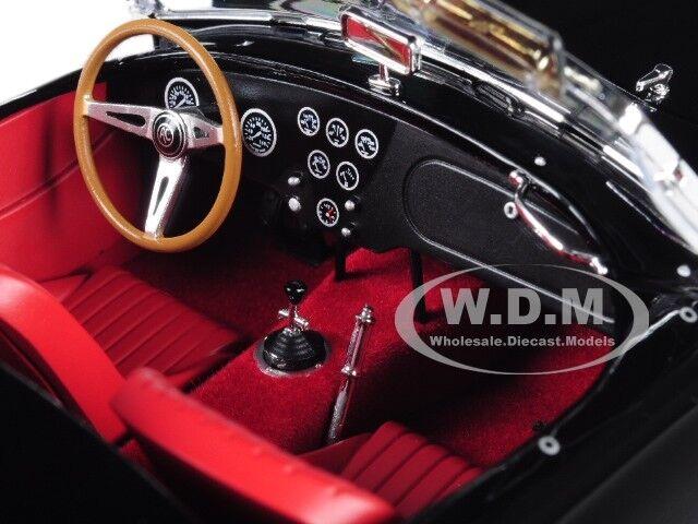 1963 1963 1963 Shelby AC Cobra 289 Roadster Negro 1 18 Diecast Modelo Coche por Norev 182754 1b2881